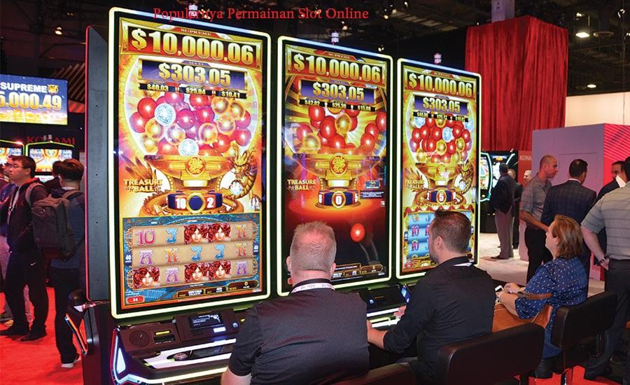 Populernya Permainan Slot Online
